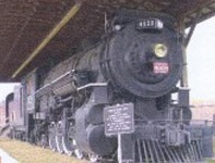 Railroad Heritage Museum & 4008 Steam Engine