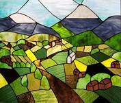 Mountainside Stained Glass, Susann Williamson