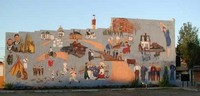 Carman Dufferin historical mural
